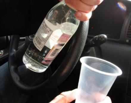 Лишение водительских прав за пьянку.